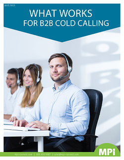 What Works in B2B Cold Calling
